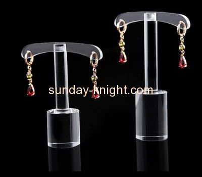 Acrylic display stand manufacturers customized plastic earring display holder JDK-355