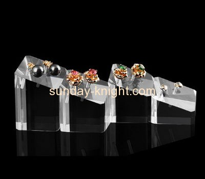 Display stand manufacturers customized acrylic cute earring holder JDK-356