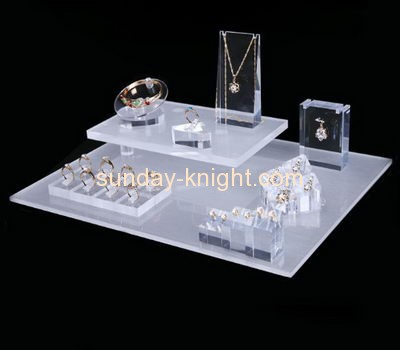 Acrylic manufacturers customized acrylic jewellery display stands JDK-368