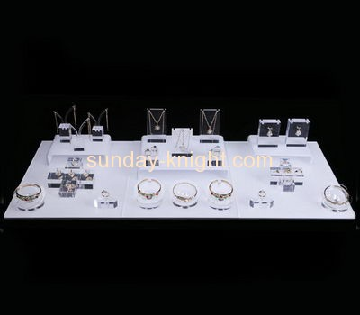 Acrylic factory wholesale acrylic jewellery display stands JDK-416