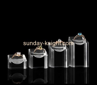 Acrylic display factory customized acrylic ring display holder JDK-432