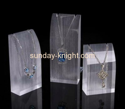 Display stand manufacturers wholesale acrylic jewelry necklace display JDK-453