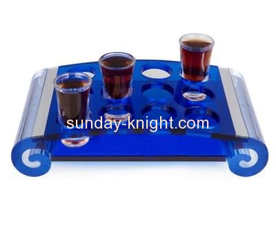 Display manufacturers customized acrylic shot glass collection holder WDK-051