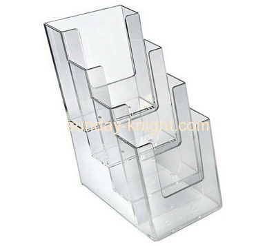 Acrylic products manufacturer custom acrylic fabrication flyer rack holder BHK-166