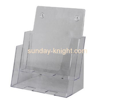 Acrylic sheet manufacturer custom fabrication pamphlet holder BHK-193