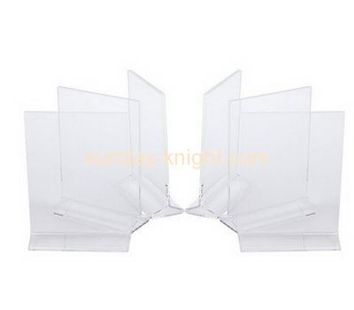 Acrylic plastic supplier custom acrylic products paper display holder BHK-278