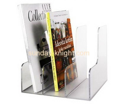 Plastic distributors and fabricators custom magazine display holder BHK-296