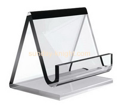 Display stand manufacturers custom acrylic plastic sign holder BHK-366