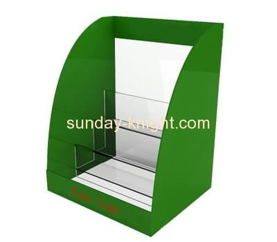 Acrylic display manufacturer custom cheap brochure literature display holders stand BHK-382