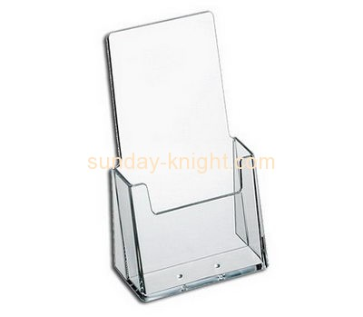 Perspex manufacturers custom plexiglass plastic literature holder BHK-385