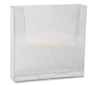 Acrylic display manufacturers custom clear plastic magazine rack BHK-407