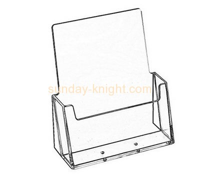 Perspex manufacturers custom acrylic postcard display stand holder BHK-409