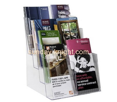 Display manufacturers custom acrylic pamphlet display holder BHK-416