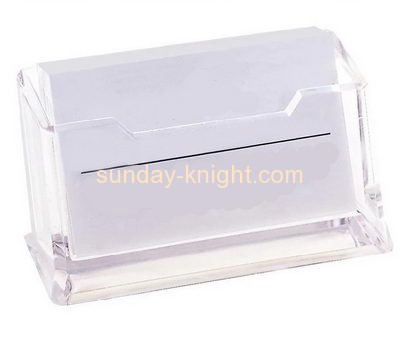 Plastic manufacturers custom acrylic desktop business card holders BHK-428