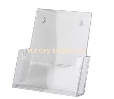 Acrylic display manufacturer custom plastic display holders for brochures BHK-433
