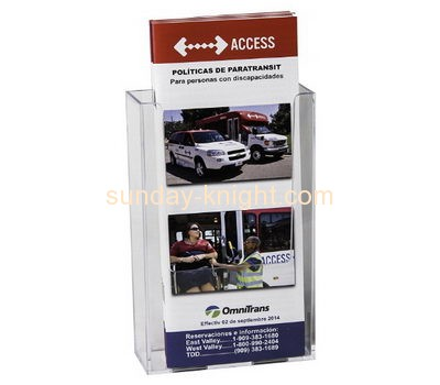 Display stand manufacturers custom acrylic brochures holder BHK-451
