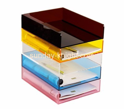 Acrylic sheet manufacturer custom plexiglass file document holder BHK-487