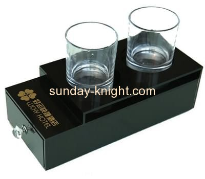 Acrylic products manufacturer custom drawer storage box HCK-053