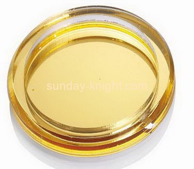 Acrylic plastic supplier custom big commercial ashtray HCK-075