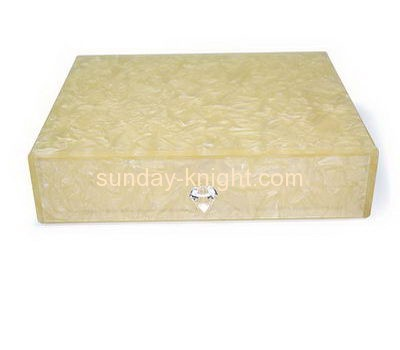 Acrylic display supplier custom made drawers HCK-136