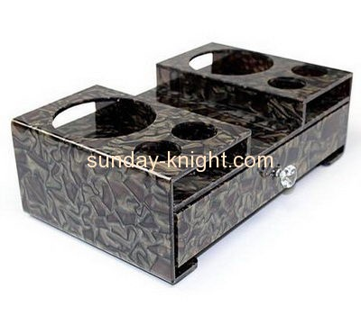 Acrylic display factory custom made drawer boxes HCK-138