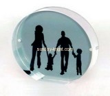 Acrylic round discount picture frames APK-003