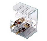 Acrylic wine display racks for 6  bottles and cups WDK-003