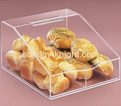 Acrylic display case for bread FSK-005