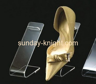 Acrylic shoe display stand SSK-001