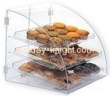 Cup cake and bread display box with three layers FSK-008