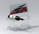 Perspex display stand with 2 layers 4 holders WDK-007