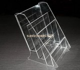 Acrylic brochure holder with two dividers BHK-006