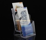 A5 acrylic brochure display holder with divider BHK-008