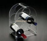 Acrylic wine display stand with three layers 5 holders WDK-011