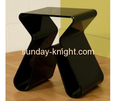Modern acrylic coffee table with magazine holder AFK-012
