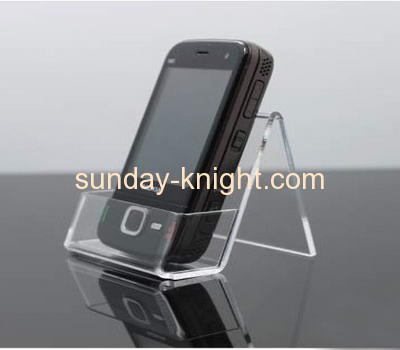 Acrylic cell phone display stand with holder CPK-004