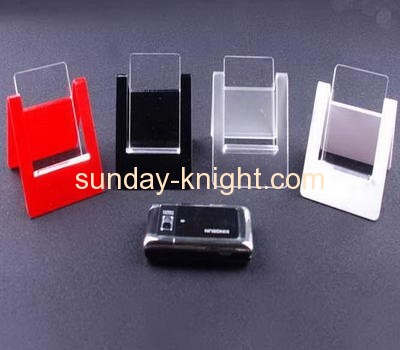 Acrylic cell phone display stands with multi color CPK-005