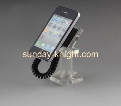 Clear lucite cell phone retail display stand CPK-007