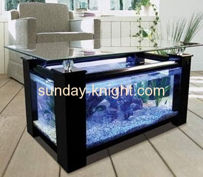 Large Transparent Acrylic Coffee Table Fish Aquarium FTK-007