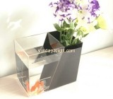 Square acrylic fish tank with flower insert FTK-015