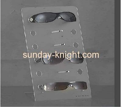 Acrylic sunglasses display stand with 6 holders SDK-009