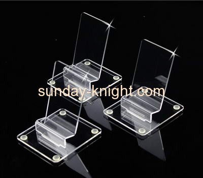 Transparent lucite cell phone display stands with holder CPK-011