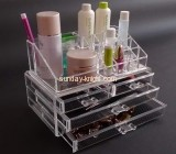 Clear lucite makeup organizer with four drawers MDK-024