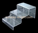 Three layers lucite shoe display stand SSK-014