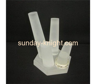Acrylic ring display stand with four holders JDK-017