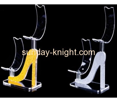 Shoe shape acrylic shoe display rack SSK-016