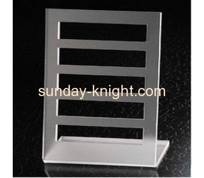 Acrylic bracelet display holder with five bars JDK-022
