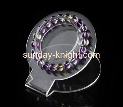 Transparent lucite bracelet display stand JDK-024