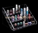 Six tiers lucite cosmetics display stand for nail polish MDK-030
