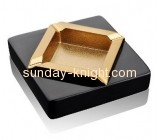 China acrylic manufacturer customize cheap acrylic ashtray HCK-034